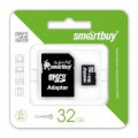 КП SILICON POWER 32GB CLASS 10 SDHC+адаптер