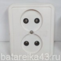 Розетка внутр 2 гн РС10-012