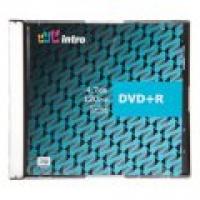 Диск DVD+R 4,7G 16x INTRO SLIM(5)