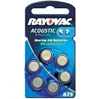 RAY-O-VAC    ZA675  -6BL