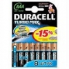 Duracell LR03 new 3+1*BL Turbo